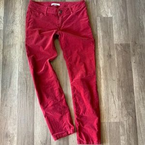 CAbi Red Corduroy Pants